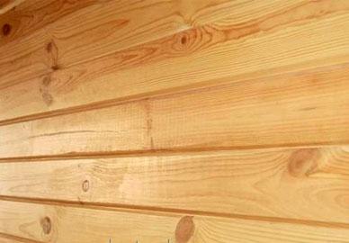 Имитация бруса из сосны 17х135 мм, сорт BC