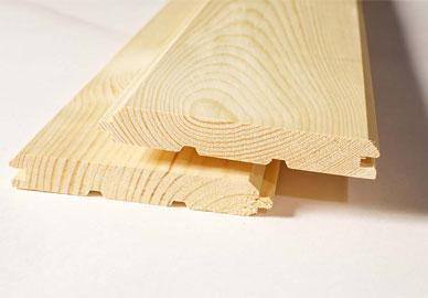 Имитация бруса из сосны 20х185 мм, сорт А