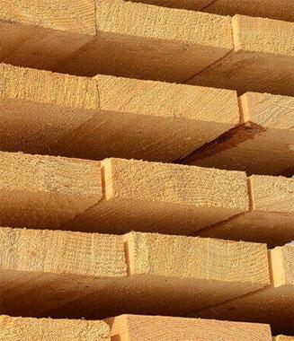 Доска обрезная строганная 30*150 мм