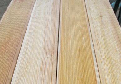 Доска террасная лиственница 28х140/120 мм сорт Прима