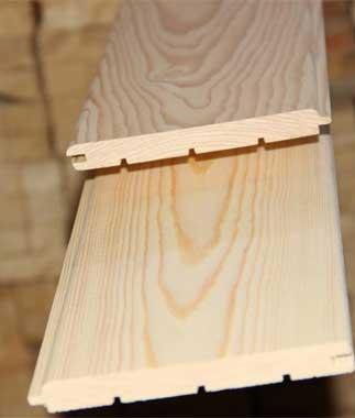 Вагонка из липы 14х96 мм сорт Экстра, 1м